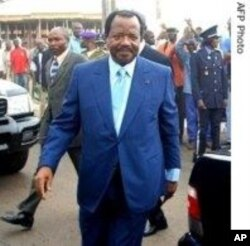 President Paul Biya of Cameroon