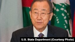 Ban Ki-moon, babban sakataren Majalisar Dinkin Duniya