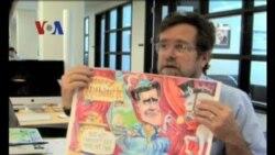 Seniman Kartunis Politik - Liputan Feature VOA