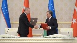 Turkiya Prezidentining O'zbekistonga tashrifi