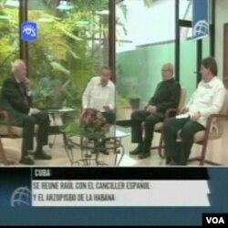 Predstavnici Katoličke crkve na Kubi sa Raulom Castrom