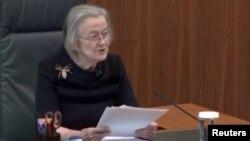 英国最高法院院长布伦达·黑尔