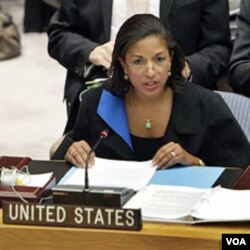 Duta Besar AS untuk PBB, Susan Rice