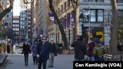 Kampus New York University (NYU) di kota New York, AS (foto: ilustrasi). New York akan segera menjadi negara bagian pertama di Amerika yang menawarkan kuliah gratis bagi keluarga berpenghasilan rendah.