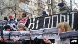 Молодь висловилася проти політичних репресій в Україні