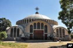 FILE - The Church of St. Mary of Zion in Axum, in the Tigray region of Ethiopia, in November 2013.