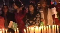 کراچی: سانحہ آرمی پبلک اسکول کی یاد میں شمعیں روشن