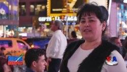 Nyu-Yorkdagi vatandoshlar - Times Square, Manhattan