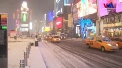 Kar Fırtınası Amerika'nın Kuzey Doğusunda Hayatı Felç Etti