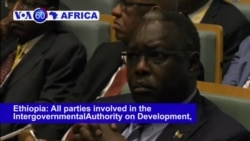 VOA60 Africa - South Sudan's Warring Parties May Sign Cease-fire Friday