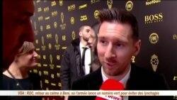 L'Afrique déçue du ballon d'or de Messi