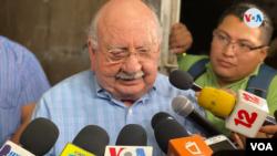 Fallece director de La Prensa Jaime Chamorro Cardenal. [Foto: Archivo VOA]