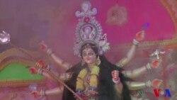 রোহিঙ্গা ক্যাম্পে দুর্গাপূজা: মিয়ানমারের অশুভ শক্তির বিনাস প্রত্যাশা