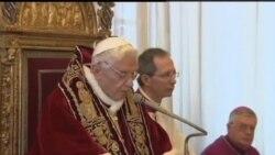 教宗辭職 世界各地表示遺憾
