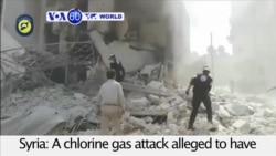 Rescue Workers Report Chlorine Attack on Aleppo- VOA60 World