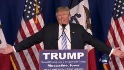 总统候选人在爱奥华州拉票