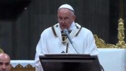 پیام رهبر کاتولیکهای جهان به مناسبت کریسمس
