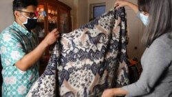 Susah Nggak Ya: Pekerja Seni AS Lestarikan Batik di Negaranya