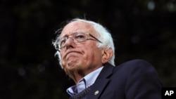 Bernie Sanders en campagne à Hanover, New Hampshire le 29 septembre 2019.
