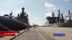 Tàu chiến Ấn cập cảng Tiên Sa, trên đường tới Guam dự diễn tập Malabar