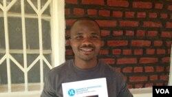 Albert Muragijimana umwe mu Banyarwanda baje mu mahugurwa ya YALI
