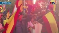 Katalonya'da Bu Kez Bağımsızlık Karşıtları Sokaklardaydı
