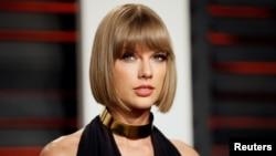 Taylor Swift à Beverly Hills, le 28 février 2016.