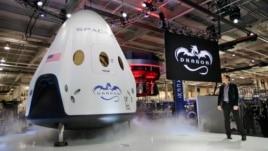 SpaceX paraqet anijen për transport të astronautëve