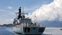 Điểm tin ngày 2/10/2021 - Chiến hạm của Hải quân Hoàng gia Anh cập cảng Quốc tế Cam Ranh trong chuyến thăm tăng cường an ninh hàng hải
