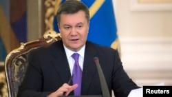 FILE - Ukraine's President Viktor Yanukovych.