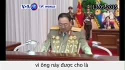 Bắc Triều Tiên hành quyết bộ trưởng quốc phòng (VOA60)