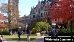 미국 중서부 일리노이주 시카고에 위치한 시카고 대학교.