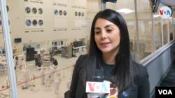 Diana Trujillo, ingeniera aeroespacial y líder de la mano robótica de los instrumentos del Mars Rover 2020.