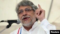 Former Paraguayan President Fernando Lugo