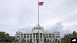 Thành phố Tam Sa được thiết lập trên một hòn đảo mà Việt Nam và Ðài Loan cùng tuyên bố chủ quyền