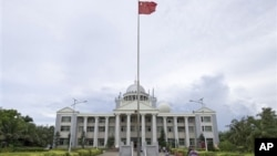 Hồi tháng 7, Trung Quốc công bố thành lập thành phố Tam Sa để quản lý hành chính khu vực rộng hơn 2 triệu cây số vuông trên Biển Đông