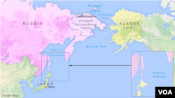 Russia plans to build military bases in the Kuril Islands, Cape Schmidt, and Wrangel Island.