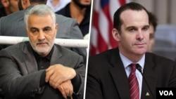 در روزهای اخیر برخی رسانه های نزدیک به جمهوری اسلامی از دیدار برت مکگورک فرستاده ویژه آمریکا با فرمانده سپاه قدس ایران نوشته بودند.