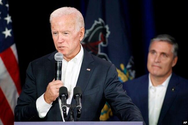 El exvicepresidente de EE.UU., Joe Biden, podría ser otro demócrata que aspire a la presidencia en las elecciones de 2020.
