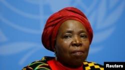 Nkosazana Dlamini-Zuma, la présidente sortante de la commission de l'Union africaine, 24 mai 2016