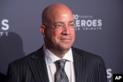 "FILE - CNN President Jeff Zucker, pictured in New York, Dec. 11, 2016, says his company's brand ""has been as strong as it has ever been"" in the early days of the Trump administration."