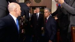 Legisladores reaccionan a discurso de Trump