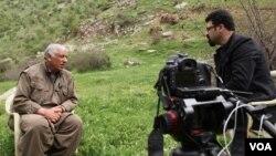 جمیل باییک رئیس شورای رهبری حزب کارگران کردستان، پ.ک.ک، در گفتگو با شپول عباسی خبرنگار بخش فارسی صدای آمریکا