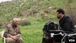 جمیل باییک رئیس شورای رهبری حزب کارگران کردستان ترکیه، پ.ک.ک، در گفتگو با شپول عباسی خبرنگار بخش فارسی صدای آمریکا