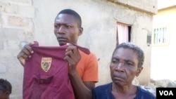 Angola Mariano Cassule irmão de Isaías cassule e mãe Madalena massoxi