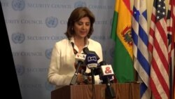 """""""ONU apoya nueva misión de proceso de paz en Colombia"""": María Ángela Holguín"""