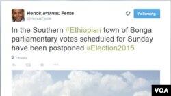 @HenokFente @VOAAmharic #EthiopiaElection2015