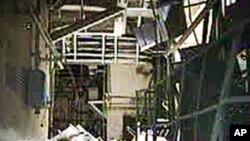 공개된 원전 내부 모습