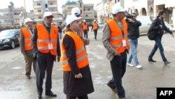 Международные наблюдатели в Сирии