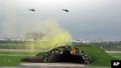 Một cuộc tập trận thường niên của quân đội Ðài Loan